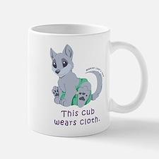This cub wears cloth 2 (purple) Mug