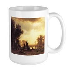 Yosemite Indian Encampment Mug