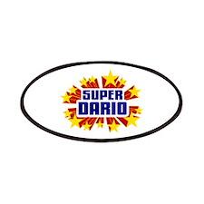 Dario the Super Hero Patches