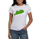 Midrealm Green Retro Women's T-Shirt