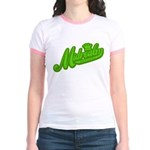 Midrealm Green Retro Jr. Ringer T-Shirt