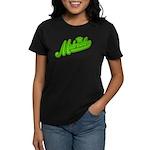 Midrealm Green Retro Women's Dark T-Shirt