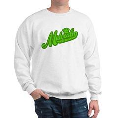 Midrealm Green Retro Sweatshirt