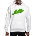 Midrealm Green Retro Hooded Sweatshirt