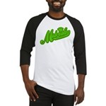 Midrealm Green Retro Baseball Jersey