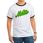 Midrealm Green Retro Ringer T