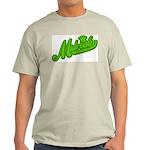 Midrealm Green Retro Ash Grey T-Shirt