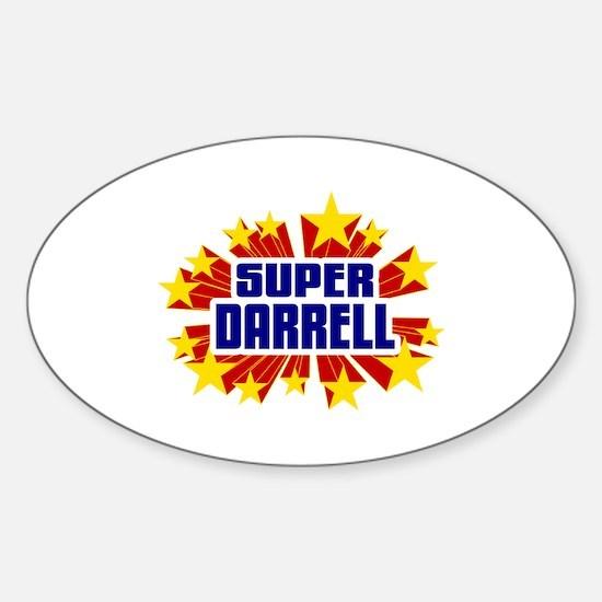 Darrell the Super Hero Decal
