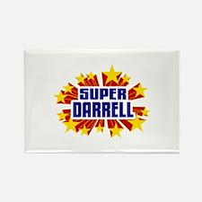 Darrell the Super Hero Rectangle Magnet