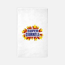 Darrell the Super Hero 3'x5' Area Rug