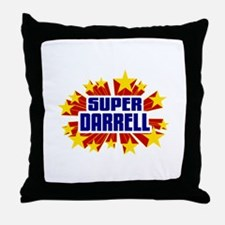 Darrell the Super Hero Throw Pillow