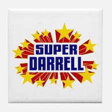 Darrell the Super Hero Tile Coaster