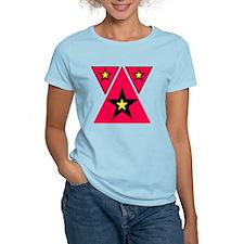 triple star triangle T-Shirt