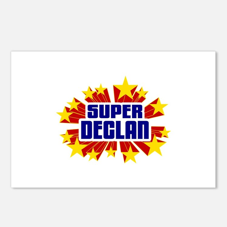 Declan the Super Hero Postcards (Package of 8)