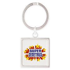Demetrius the Super Hero Keychains