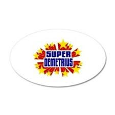 Demetrius the Super Hero Wall Decal