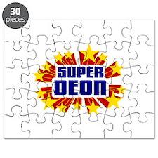 Deon the Super Hero Puzzle