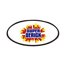 Derick the Super Hero Patches