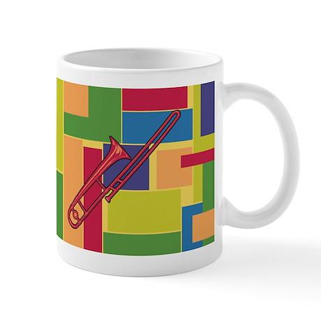 Trombone Colorblocks Mug