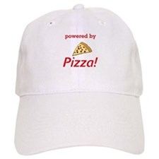 Powered By Pizza Baseball Cap