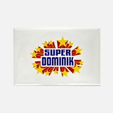 Dominik the Super Hero Rectangle Magnet (100 pack)