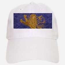 Rampant Lion - gold on blue Baseball Baseball Baseball Cap