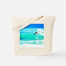 Tide Rider Tote Bag