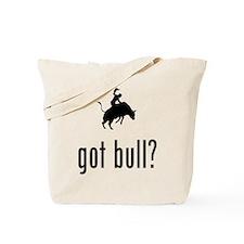 Bull Riding Tote Bag