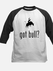 Bull Riding Kids Baseball Jersey