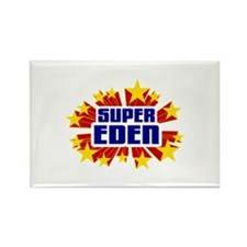 Eden the Super Hero Rectangle Magnet