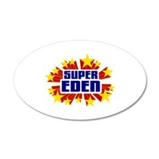 Eden the Super Hero Wall Decal