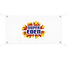 Eden the Super Hero Banner