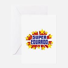 Eduardo the Super Hero Greeting Card