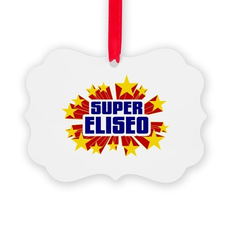 Eliseo the Super Hero Ornament