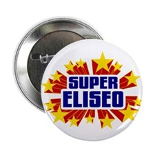 "Eliseo the Super Hero 2.25"" Button"