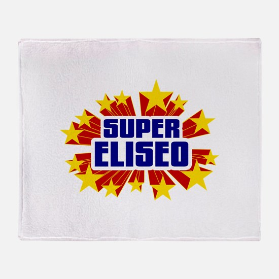 Eliseo the Super Hero Throw Blanket