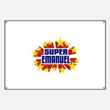 Emanuel the Super Hero Banner