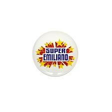 Emiliano the Super Hero Mini Button