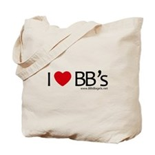 I Love BB's Tote Bag