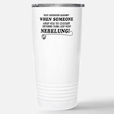 Nebelung designs Travel Mug