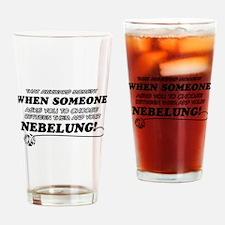 Nebelung designs Drinking Glass