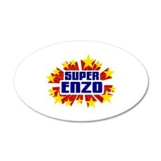 Enzo the Super Hero Wall Decal