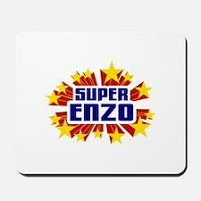 Enzo the Super Hero Mousepad