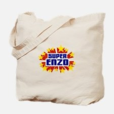 Enzo the Super Hero Tote Bag