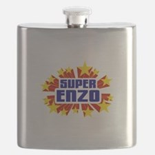 Enzo the Super Hero Flask