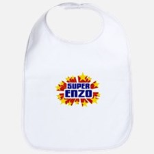 Enzo the Super Hero Bib
