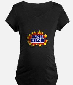 Enzo the Super Hero Maternity T-Shirt