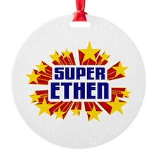 Ethen the Super Hero Ornament