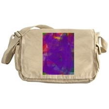 Purple Messenger Bag