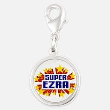 Ezra the Super Hero Charms